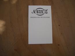 Carte 4711 Original Eau De  Cologne* - Perfume Cards