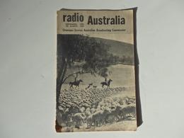 "Fascicule 24 Pages De Radio Australia ""Overseas Service Australian Broadcasting Commission"" 1954-1955. - Fernsehen"