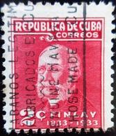 1934 Cuba Yt 219, Sn 319 . Carlos J. Finlay (1833-1915), Discoverer Of Yellow Fever Pat - Cuba