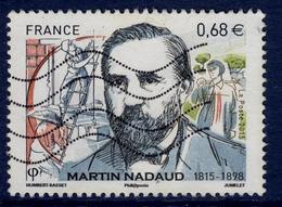 LOTE 1832  ///  France 2015 - Oblitéré - Martin Nadaud - France