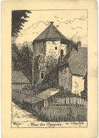 J. KLIPPSTIEHL - ARANRL - Tour Des Cigognes - Gravure  (111656) - Autres Illustrateurs