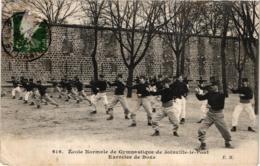 ECOLE NORMALE DE GYMNASTIQUE DE JOINVILLE LE PONT ,EXERCICE DE BOXE    REF 59080A - Boxe