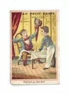 Chocolate Trading Cards / Chromo - Au Petit Paris Troyes - Pourtant, Qui Dîne Dort! - Autres