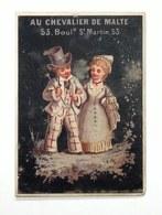 Trading Card / Chromo - Au Chevalier De Malte - Habillements Pour Hommes Et Enfants - - Autres