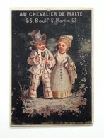 Trading Card / Chromo - Au Chevalier De Malte - Habillements Pour Hommes Et Enfants - - Andere