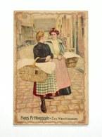 Trading Card / Chromo -Paris Pittoresque - Les Blanchisseuses - Cordonnerie Maison Guerion & Cie. - Autres
