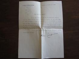 LETTRE SIGNEE ALBERIC CAHUET JOURNALISTE A L ILLUSTRATION 28 JANVIER 1930 - Autographes