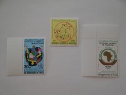 1988 Mauritanie Yv 601 - 607 - 611 ** MNH Sujets Divers Cote 5.00 € Michel 925 - 936 - 940 Scott 629 - 630 - 639 - Mauritanie (1960-...)