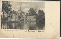 CPA Le Moulin De L'Abbaye De Parck Les Environs De Louvain - Leuven
