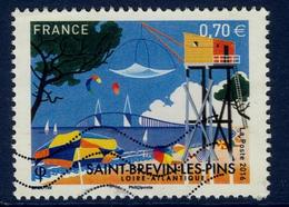 LOTE 1832  ///  France 2016 - YT 5047 - Oblitéré Vague - Saint Brévin Les Pins - France