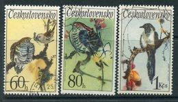 Y85 Czechoslovakia 1972 2110-2112 Songbirds. Fauna - Tchécoslovaquie