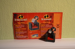 Kinder Indestructibles - Incredibles 2004 MPG C 305 - Edna Mode + BPZ - Dibujos Animados