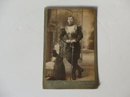 Photographie 16cm/10,5cm D'un Cuirassier De Houtas 21, Rue D'Angivillier à Rambouillet (78). - Uniforms