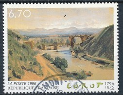 France - Oeuvre De Jean-Baptiste Corot YT 2989 Obl - Usados