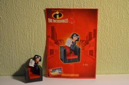 Kinder Indestructibles - Incredibles 2004 MPG C 305 - Edna Mode + BPZ - Cartoons