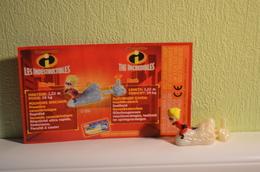 Kinder Indestructibles - Incredibles 2004 MPG C 306 - Flèche - Dash + BPZ - Cartoons