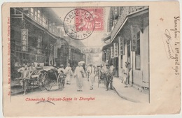 CHINE - SHANGHAI - SCENE DE RUE - Chine