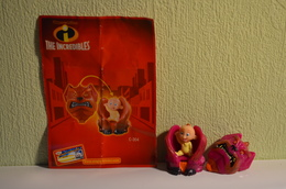 Kinder Indestructibles - Incredibles 2004 MPG C 304 - Jack Jack + BPZ - Dibujos Animados