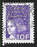 FRANCE 3099 Marianne Du 14 Juillet 10.00 F Violet . - Frankreich