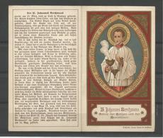 Holy Card.  H.Johannes Berchmans - Religion & Esotérisme