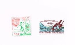 Sports Basques,traversée à La Rame.MNH,Neuf Sans Charnière,Falzlos.Yvert 546/7 - Neufs