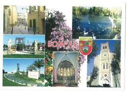 CP Bompas (66) Vues Diverses Eglise St Etienne - Frankrijk