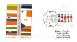 """BRD Schmuck-FDC  """"Erweiterung Der Europäischen Union"""", Mi. 2400 ESSt 6.5.2004 BONN - BRD"""