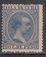 Cuba Sueltos 1891 Edifil 129 * Mh - Cuba (1874-1898)