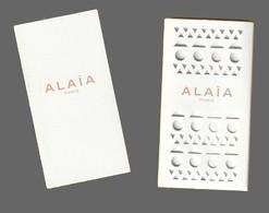 Carte Publicitaire + Enveloppe- Advertising Card  - Alaia - Perfume Cards