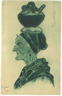 LEGAT - Pays Basque - Vieille Basquaise Portant Son Eau  (111659) - Autres Illustrateurs