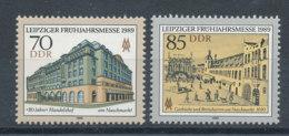 2841 Et 2842** Foire De Leipzig - [6] Democratic Republic