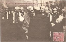 Dépt 44 - NANTES - Manifestations à L'occasion Des Inventaires (1906) - L'Évêque Opposant Un Refus Formel - Nantes