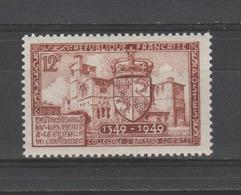 FRANCE / 1949 / Y&T N° 839 ** : Rattachement Du Dauphiné - Gomme D'origine Intacte - Neufs