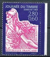France - Journée Du Timbre 1996 - YT 2990a Obl  (issu De Carnet) - France