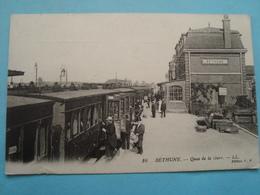 62 - Béthune - Quai De La Gare - 1915 - Bethune