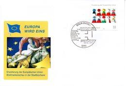"""BRD Schmuck-FDC  """"Erweiterung Der Europäischen Union"""", Mi. 2400 ESSt 6.5.2004 BERLIN - BRD"""
