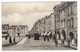 LA ROCHELLE (17) - Rue Chaudrier - TRAMWAY - Ed. L. C. - La Rochelle
