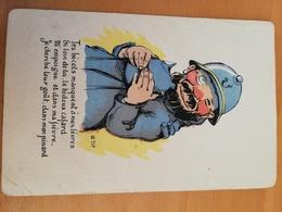 Cpa Signée Tip-collection Comique-nos Gais Poilus-te Bécots Manquent à .... - Autres Illustrateurs