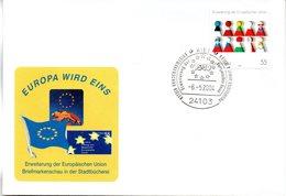 """BRD Schmuck-FDC  """"Erweiterung Der Europäischen Union"""", Mi. 2400 ESSt 6.5.2004 KIEL - BRD"""