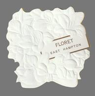 Carte Publicitaire  - Advertising Card  -  East Hampton De Floret - Perfume Cards