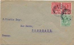 Lettre Morriston Pour Bordeaux - 1902-1951 (Rois)