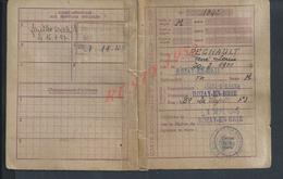 MILITARIA CARTE D ALIMENTATION DE REGNAULT LOUIS A ROZAY EN BRIE 1946 DECHIRURE : - Cartes