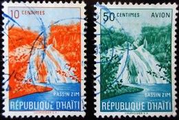 Haïti Bassin Zim 2 Valeurs Oblitérés - Haïti