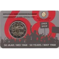 """Moneda 2€ 2018 Belgica """"Mayo Del 68"""" - Bélgica"""