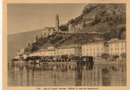 LAGO DI LUGANO MORCOTE (Effetto Di Notte Per Trasparenza) - Svizzera