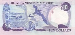 BERMUDA P. 36 10 D 1989 UNC - Bermudas