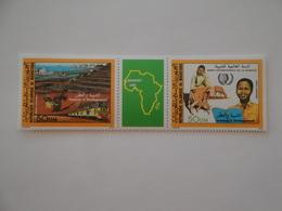 1985 Mauritanie Yv PA 327A  ** MNH Jeunesse Et Développement  Cote 11.00 € Michel 864/5  Scott C236/7 SG 837/8 - Mauritanie (1960-...)