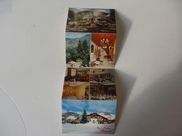 Carte De Visite De L'hôtel Gai Soleil Rue Du Crêt Du Midi à Megéve (74). - Visiting Cards