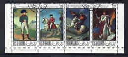 "RAS AL KHAIMA -1968 - Lotto 4 Francobolli ""Napoleone"" - Usati -  (FDC14245) - Ra's Al-Chaima"