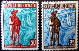 Haïti  Jean Baptiste Paul DESSABLES 2 Valeurs Oblitérés - Haïti